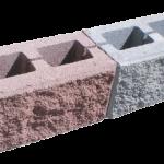 """Блок стеновой """"Пустотелый под рваный камень"""""""