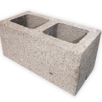 Блок стеновой рядовой 2-х пустотный