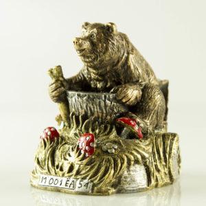 """Купить сувенир """"Медведь автолюбитель"""""""