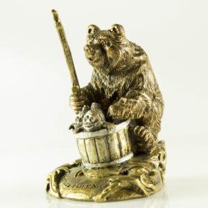 """Купить сувенир """"Медведь рыбак"""""""