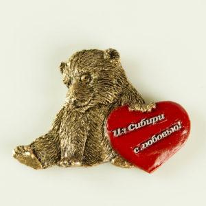 """Купить сувенир магнит """"Медвежонок"""""""